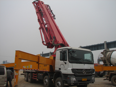 砼泵车 concrete pump truck